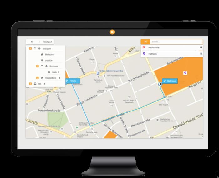 Wege berechnen mit .secure.MAPS