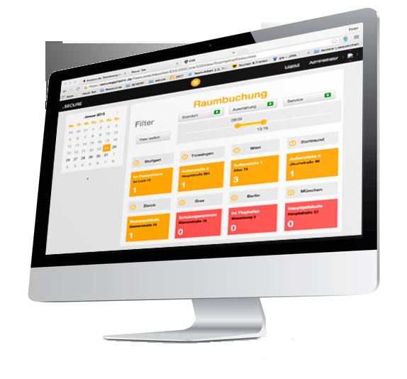 .secure.ROOMS&RESOURCES - Meetings und Veranstaltungen einfach und schnell planen