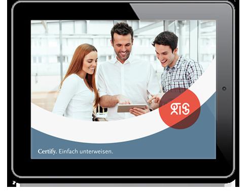 .secure.CERTIFY – die Unterweisungssoftware aus dem Hause gis
