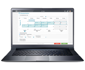 Abwesenheiten erstellen mit der Zeitwirtschaftssoftware .secure.WTIME