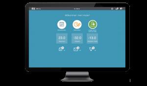 Startseite der Zeitwirtschaftssoftware .secure.WTime