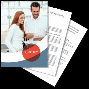 secure.CERTIFY – die Softwarelösung für Unterweisungen