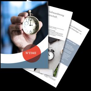 .secure.WTIME – die Softwarelösung für den Bereich Zeitwirtschaft