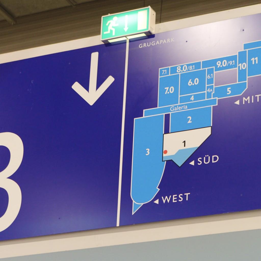 security essen 2016: Der Messestand der gis befand sich in Halle 3, Stand D49