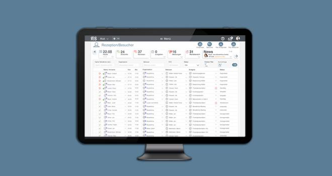 Die bewährte Besucherverwaltung .secure.VISIT bietet neue Funktionen